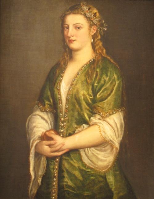 Portrait of a Lady (Titian) (1555)